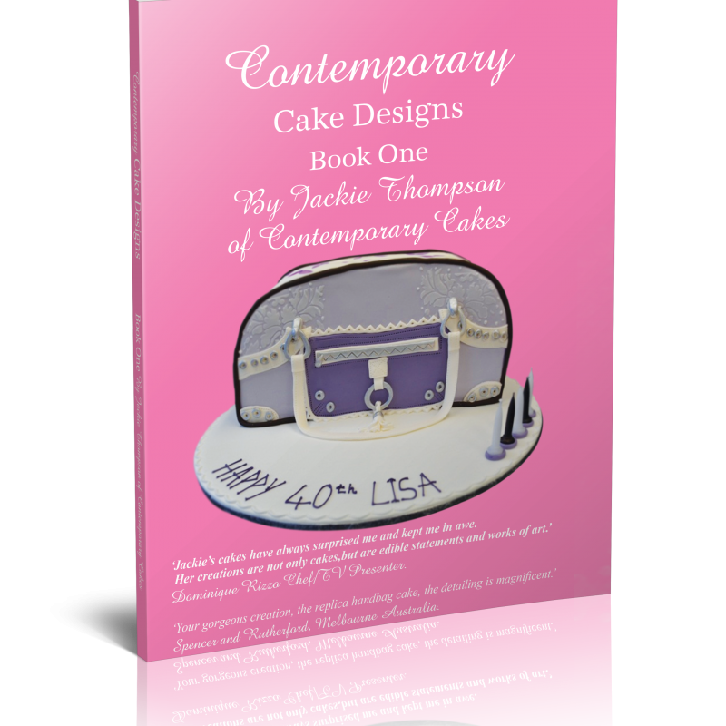 Free Cake Design Books : Contemporary Cake Designs Book One with free shipping ...
