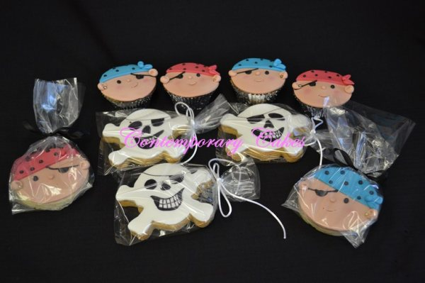 Pirate Cookies made by Contemporary Cakes