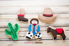 Cowboy cookies Contemporary Cakes and Classes