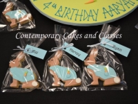 Peter rabbit Cookies made by Contemporary Cakes