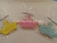 Tiara Princess Cookies made by Contemporary Cakes