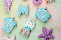 Sea life cookies Contemporary Cakes and Classes
