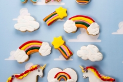 Unicorn cookies Contemporary Cakes and Classes