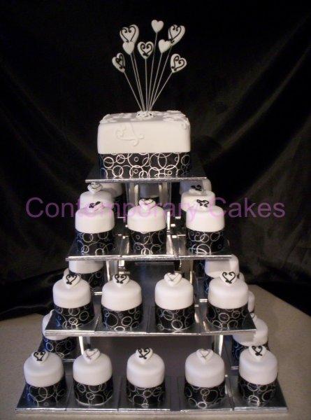 Cake Decorating Classes Logan : Miniature wedding cake Contemporary Cakes   Contemporary ...