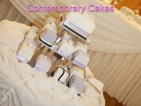 Miniature wedding cakes Contemporary Cakes and Classes