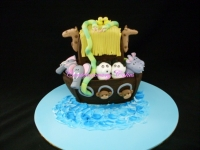 Noahs ark cake Contemporary Cakes and Classes Brisbane