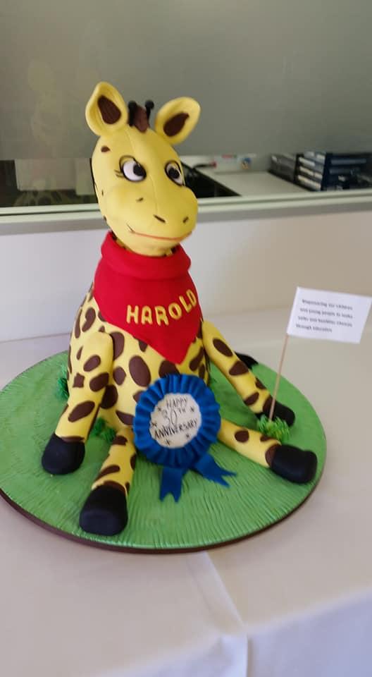 Happy Harold Giraffe cake Contemporary Cakes and Classes