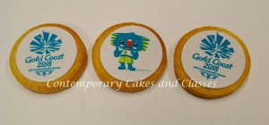 Commonwealth Games Corporate Cookies Contemporary Cakes and Classses Brisbane Logan Gold Coast