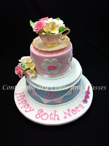 Birthday cake Brisbane Contemporary Cakes and Classes 1
