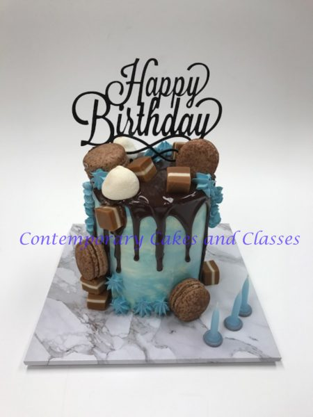 Brisbane Cake decorating classes Contemporary Cakes Drip cake