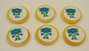 Commonwealth Games Official cookies by Contemporary Cakes and Classes
