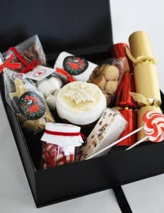 Christmas Corporate Hamper Contemporary Cakes and Classes