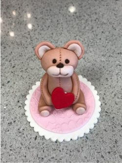 Teddy Bear Fondant topper class Contemporary Cakes and Classes