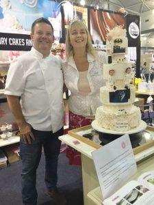 Master chef Gary Mehigan and Jackie Thompson