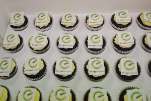 Corporate cupcakes Contemporary Cakes and Classes