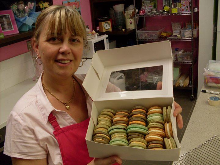 Macaron class Contemporary Cakes Brisbane
