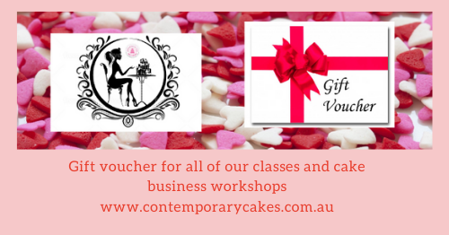 Gift voucher for all of our classes and cake business workshops (2)