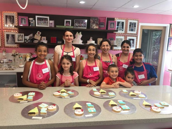 Christmas Gingerbread House Baking and Decorating class Contemporary Cakes and Classes Logan.