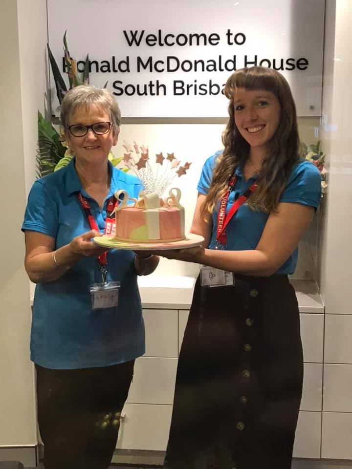 Contemporary Cakes and Classes donated to Ronald Mcdonald house