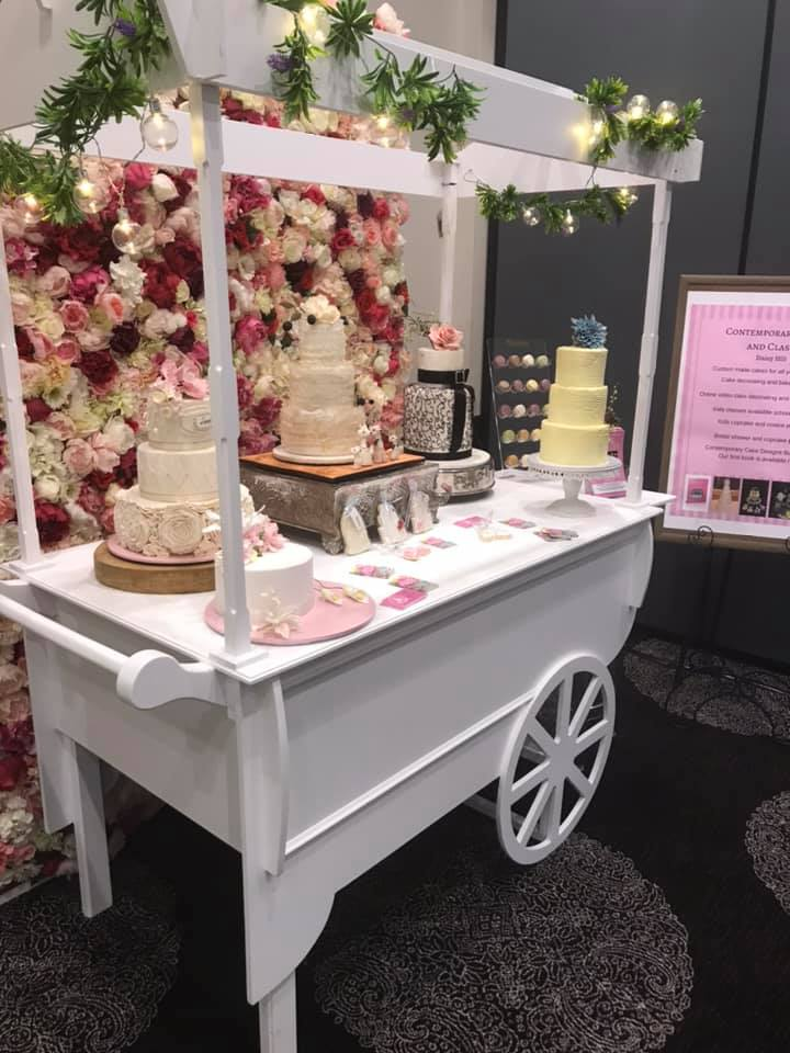 Candy Cart Hire Contemporary Cakes and classes