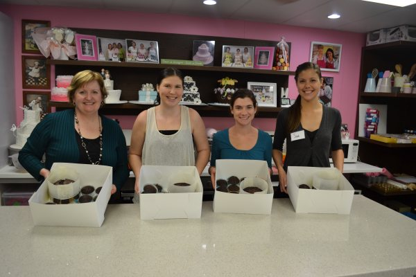 Baking class, mud cake class at Contemporary Cakes and Classes