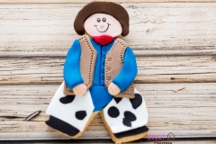 Cowboy cute cookies Contemporary Cakes and Classes