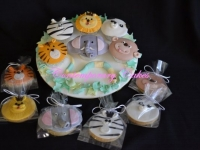 Animal Cookies made by Contemporary Cakes