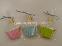 Cupcake themed Cookies made by Contemporary Cakes