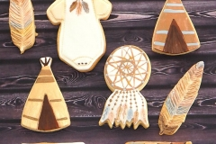 Wigwams and Tippees Cookies Contemporary Cakes and Classes