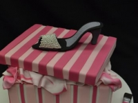 Shoe box cake Contemporary Cakes and Classes Brisbane