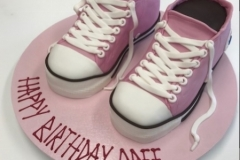 trainer shoe  birthday cake Brisbane Contemporary Cakes and Classe