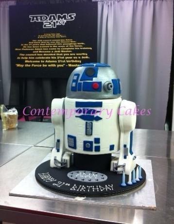 Star Wars birthday Cake Brisbane cakes, Contemporary Cakes, Party Cakes