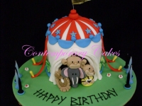 Circus Cake Contemporary Cakes and classes