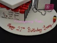 Shoe box and handbag cake Contemporary Cakes and classes