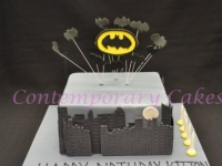 Batman Cake Contemporary Cakes and classes