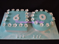 60th Birthday Cake Brisbane Contemporary Cakes and classes Brisbane
