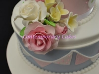 Birthday Cake teacup and saucer