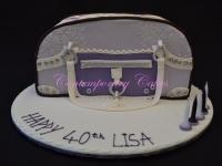 Handbag Cake Contemporary Cakes and classes Brisbane