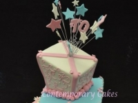 Mad hatters 70 th Birthday Cake