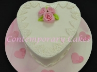 Heart Cake Contemporary Cakes and classes