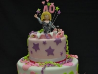 Karaoke 40th Birthday Cake Contemporary Cakes and classes