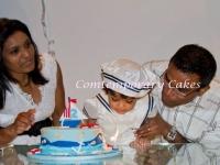 Sailing boat Birthday Cake