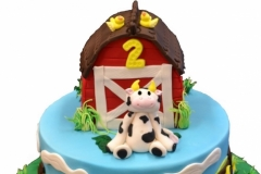 1 farm birthday cake Brisbane Contemporary Cakes and Classes
