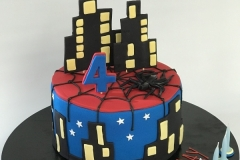 1. superhero cake birthday cake Brisbane Contemporary Cakes and Classes