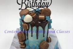 Brisbane-Cake-decorating-classes-Contemporary-Cakes-Drip-cake-500x600