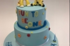 first birthday cake  Brisbane Contemporary Cakes and Classes