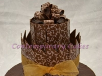 Chocolate cake class at Contemporary Cakes and Classes