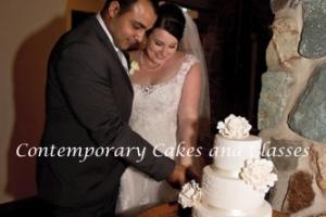 Brisbane wedding cakes Contemporary Cakes 2