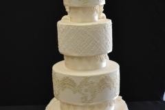 Double Sided Wedding Cake Brisbane Wedding Cake Brisbane Contemporary Cakes and Classes
