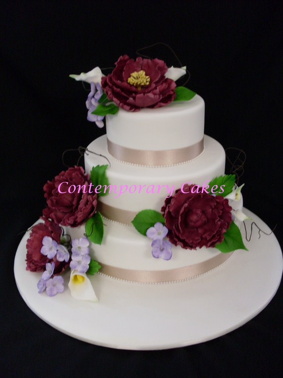 Wedding Cake Brisbane Contemporary Cakes and Classes